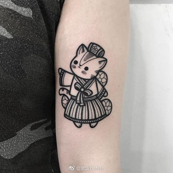 超可爱的小清新纹身图案你见过吗?2018点刺小清新全球